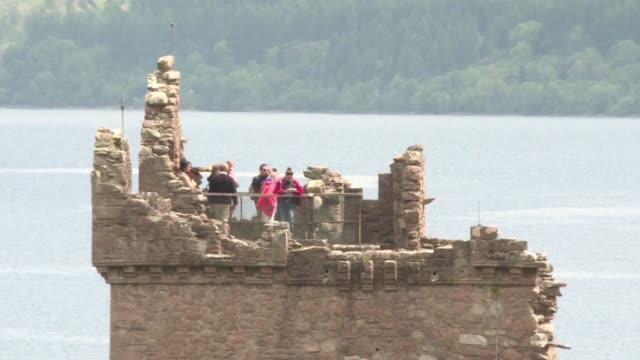 tales of a giant creature lurking beneath the murky waves of loch ness have been around for over 1,500 years and one academic hopes the marvels of... - inverness scotland stock videos & royalty-free footage
