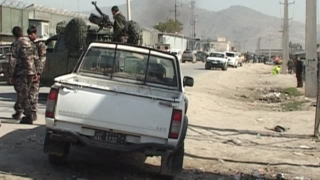 Taliban bombers attacked a heavily fortified guesthouse used by Westerners in Kabul on Wednesday in defiance of a visit by US President Barack...