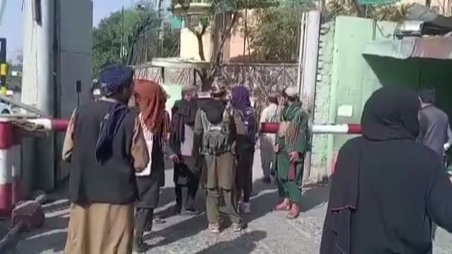 taliban forces took control of the kabul governorate on monday, aug. 16. after the taliban's rapid takeover of the country, the forces began to... - escaping stock videos & royalty-free footage