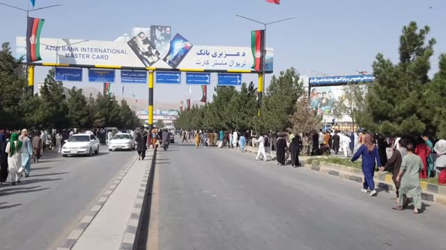 taliban members began patrolling in kabul on monday after taking over afghanistan's capital kabul. a day after afghanistan's capital fell to the... - democracy stock videos & royalty-free footage