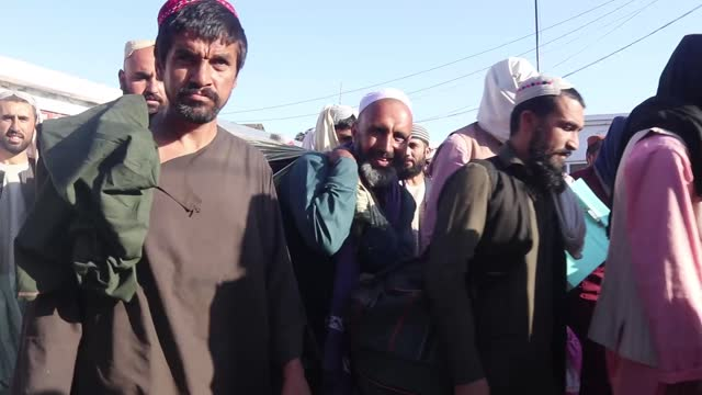 taliban on monday, aug. 23, have released over 900 prisoners allegedly linked with al-qaeda, is terror groups and arrested by the former afghan... - bagram stock videos & royalty-free footage