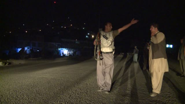 taliban suicide bombers and gunmen attacked a kabul hotel popular with foreigners and afghan officials sparking a fivehour assault that left several... - taliban stock videos & royalty-free footage