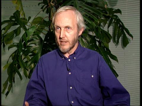 itn england london gir int peter marsden interviewed taliban seeking the spiritual cleansing of kabul - spirituality stock videos & royalty-free footage