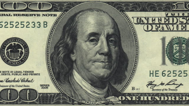 talking 100 dollar bill - hd - us dollar note stock videos & royalty-free footage