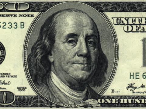 vidéos et rushes de parler de 100 dollars américains-ntsc - discours