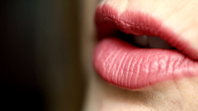 talking lips - whispering stock videos & royalty-free footage