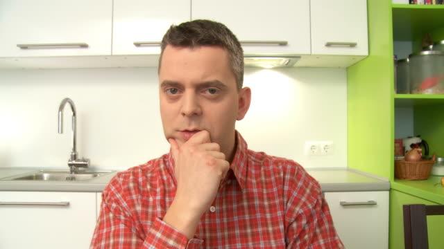 hd: talking to the camera - digital eyeball stock videos and b-roll footage