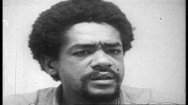 talks about the persecution of the black panther party including the killing of fred hampton by the government - black panther stock videos & royalty-free footage