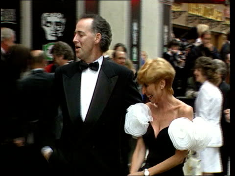 talks of lubbock death interview lib england london barrymore and then wife cheryl along at function barrymore arriving at function pan - michael barrymore stock videos & royalty-free footage