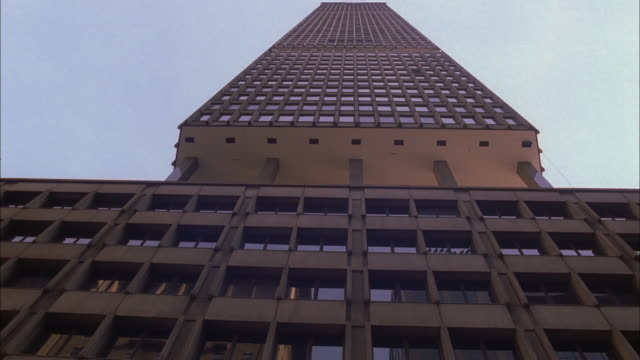 Tall office building in New York. Available in HD.