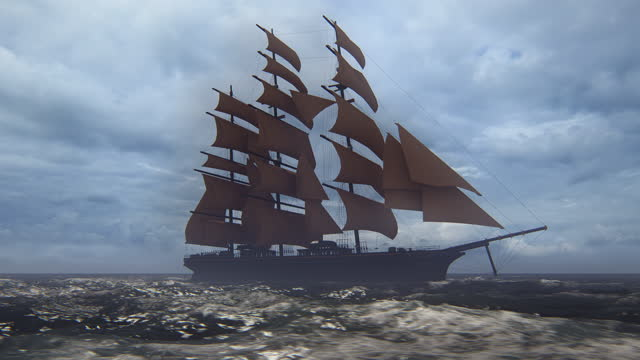 tall ship - ship stock videos & royalty-free footage