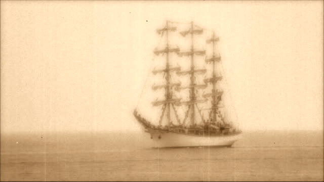 tall ships - schiffsmast stock-videos und b-roll-filmmaterial