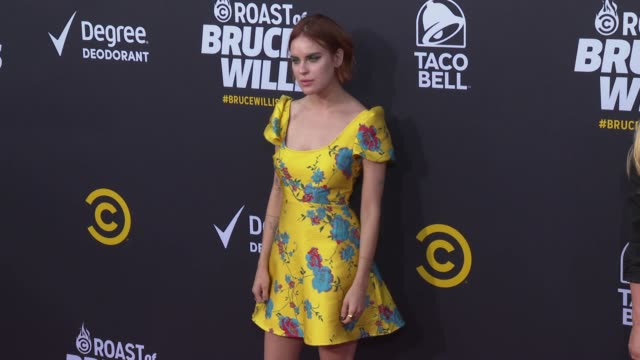 tallulah willis at the comedy central roast of bruce willis at hollywood palladium on july 14, 2018 in los angeles, california. - tallulah belle willis stock videos & royalty-free footage