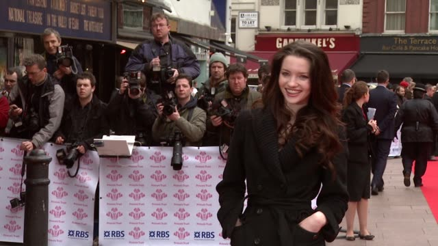 talulah riley at the the prince's trust success awards at the odeon leicester square in london on march 18, 2008. - プリンスズトラスト点の映像素材/bロール