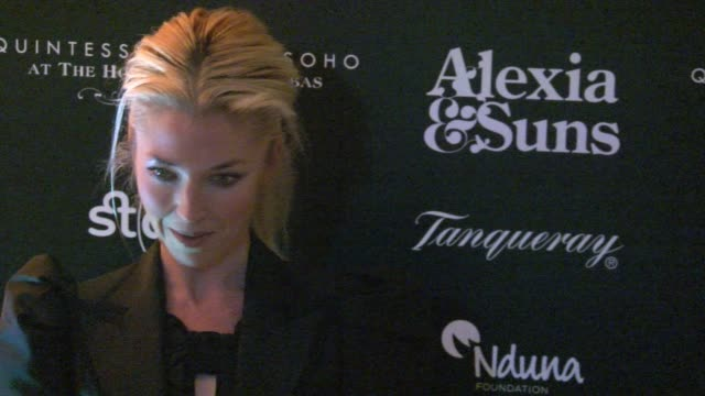tamara beckwith at the fair of st barnabus fair of st barnabus at the house of st barnabas on november 01 2009 in london england - one mid adult woman only stock videos & royalty-free footage