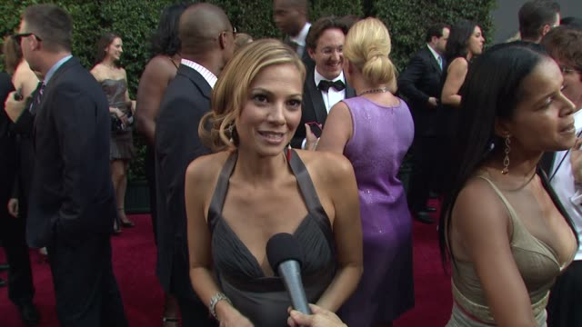 vidéos et rushes de tamara braun on her nomination, daytime television. at the 36th annual daytime emmy awards at los angeles ca. - nominations aux emmy awards