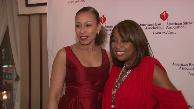 tamara tunie and star jones at the star jones attends 'celebrity apprentice' premiere for american heart association at new york ny. - star jones stock videos & royalty-free footage