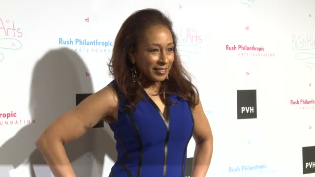 vídeos y material grabado en eventos de stock de tamara tunie at russell simmons' rush philanthropic arts foundation's annual rush hearts education luncheon at the plaza hotel on march 11 2016 in... - russell simmons