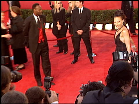 tamara tunie at the 2004 people's choice awards at the pasadena civic auditorium in pasadena california on january 11 2004 - pasadena civic auditorium stock videos & royalty-free footage