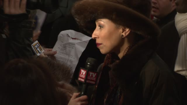 Tamara Tunie at the 'Sweeney Todd The Demon Barber of Fleet Street' New York Premiere at Ziegfeld Theatre in New York New York on December 3 2007