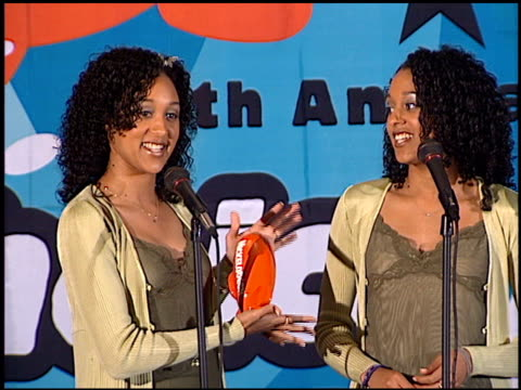 Tamera Mowry at the 1998 Nickelodeon Kids' Choice Awards at UCLA in Westwood California on April 4 1998