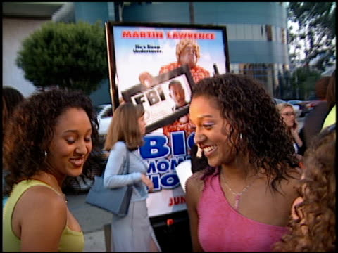 tamera mowry at the 'big momma's house' premiere at the cinerama dome at arclight cinemas in hollywood california on may 31 2000 - tamera mowry stock videos and b-roll footage