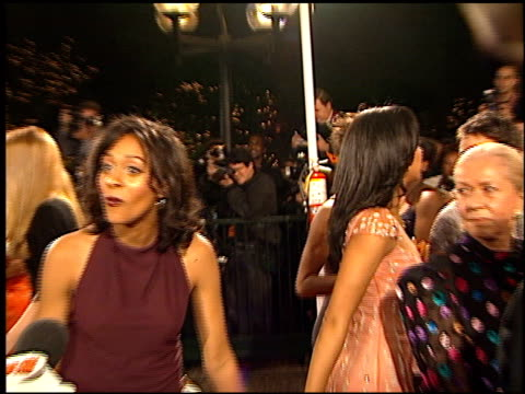 tamera mowry at the naacp image awards at pasadena civic auditorium in pasadena california on february 12 2000 - tamera mowry stock videos and b-roll footage