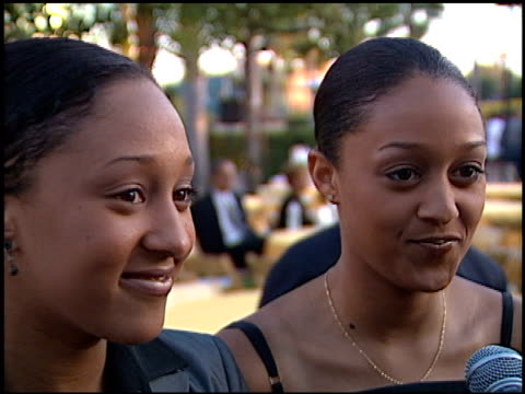 tamera mowry at the 'snake eyes' premiere at paramount theater in hollywood california on july 30 1998 - tamera mowry stock videos and b-roll footage