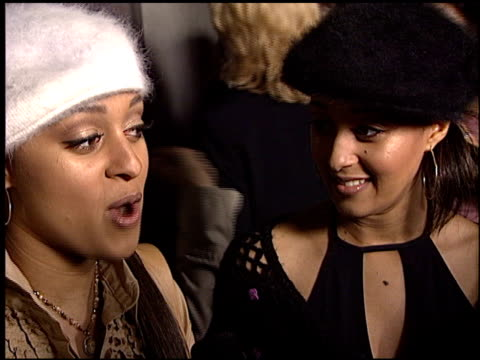 tamera mowry at the teen people awards at the ivar in hollywood california on january 13 2003 - tamera mowry stock videos and b-roll footage