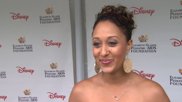 tamera mowry on how she feels to be at the 22nd annual time for heroes celebrity picnic why she wanted to come and support what about this event... - tamera mowry stock videos and b-roll footage