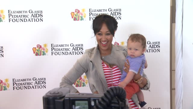 tamera mowryhousley at elizabeth glaser pediatric aids foundation's 24th annual a time for heroes event on 6/2/13 in los angeles ca - tamera mowry stock videos and b-roll footage