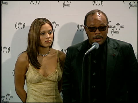 Tamia at the American Music Awards at the Shrine Auditorium in Los Angeles California on January 27 1997