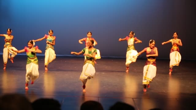 tamil youth perform a traditional dance during a cultural program celebrating the thai pongal festival in markham, ontario, canada, on january 12,... - harvest festival stock videos & royalty-free footage