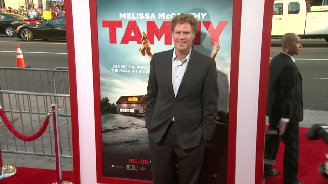 """tammy"""" los angeles premiere at tcl chinese theatre on june 30, 2014 in hollywood, california. - ben falcone stock videos & royalty-free footage"""