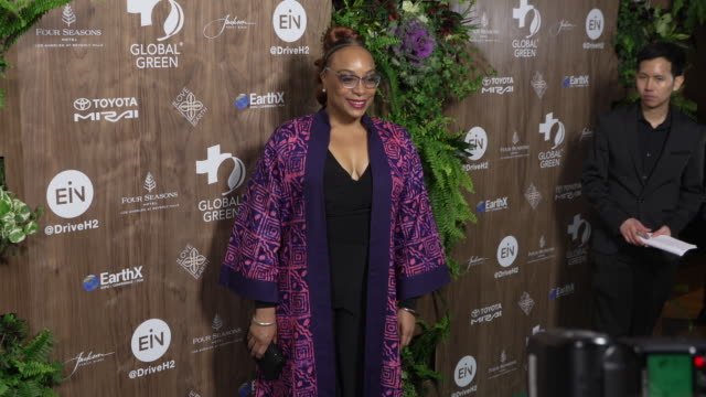 vídeos de stock e filmes b-roll de tammy palmer at the global green 2019 pre-oscar gala at the four seasons hotel los angeles at beverly hills on february 20, 2019 in beverly hills,... - festa do óscar