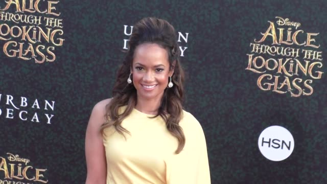 tammy townsend at the premiere of disney's alice through the looking glass at el capitan theatre in hollywood - celebrity sightings on may 23, 2016... - el capitan theatre stock videos & royalty-free footage
