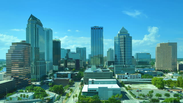 tampa, fl - tampa convention center stock videos & royalty-free footage