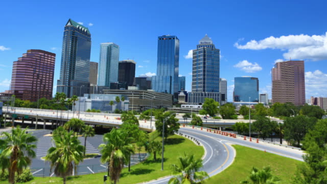 tampa, fl - skyline stock videos & royalty-free footage