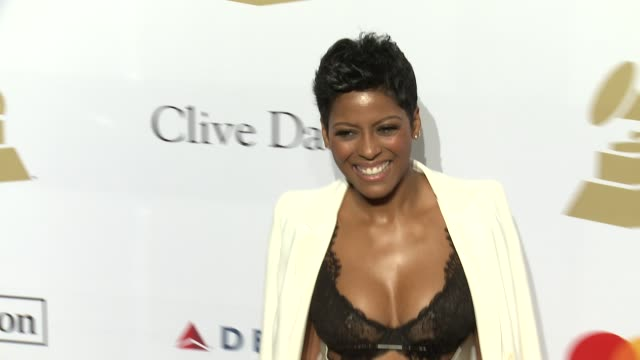 tamron hall at the 2017 pre-grammy gala honoring debra l. lee with grammy salute to industry icons award at the beverly hilton hotel on february 11,... - tamron hall stock videos & royalty-free footage