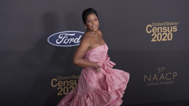 tamron hall at the 51st naacp images awards on february 22, 2020 in pasadena, california. - tamron hall stock videos & royalty-free footage