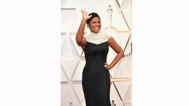 tamron hall attends the 92nd annual academy awards at hollywood and highland on february 09, 2020 in hollywood, california. - tamron hall stock videos & royalty-free footage