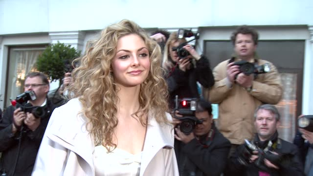 Tamsin Egerton at the The Laurence Olivier Awards at the Grosvenor House in London on March 9 2008