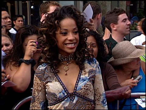 Tamyra Monika Gray at the American Idol Finale at the Kodak Theatre in Hollywood California on September 4 2002
