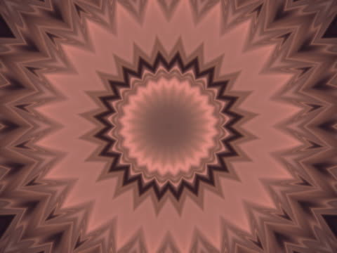 Tan and brown kaleidoscope.