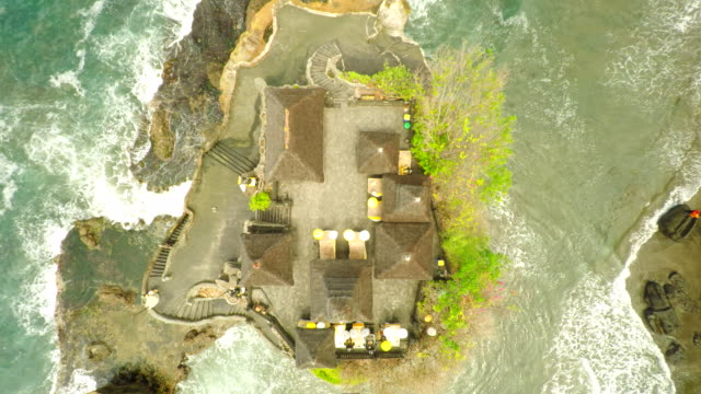 AERIAL Tanah Lot Temple