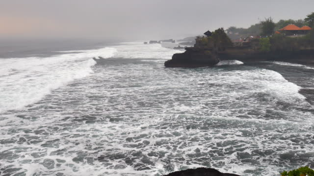 tanah lot temple - spirituality stock videos & royalty-free footage