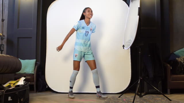 Taneekarn Dangda at FIFA Women's World Cup France 2019 Team Portrait Session on June 08 2019 in Reims