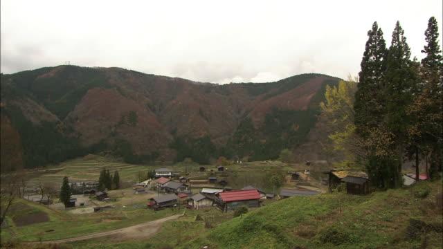 Tanekura Village, Gifu, Japan