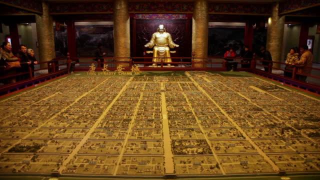 MS Tang Dynasty Changan city in micro model / xi'an, shaanxi, china