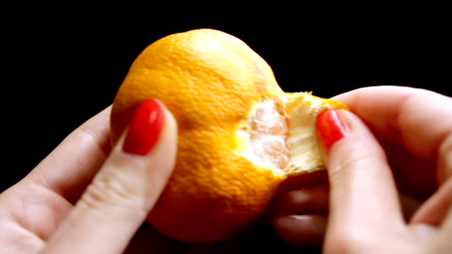 tangerine - peel stock videos & royalty-free footage